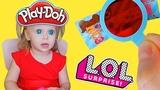 РАСПАКОВКА новогодних ПОДАРКОВ / Оливкина первая куколка ЛОЛ, Play Doh, My Little Pony и другие ❤️