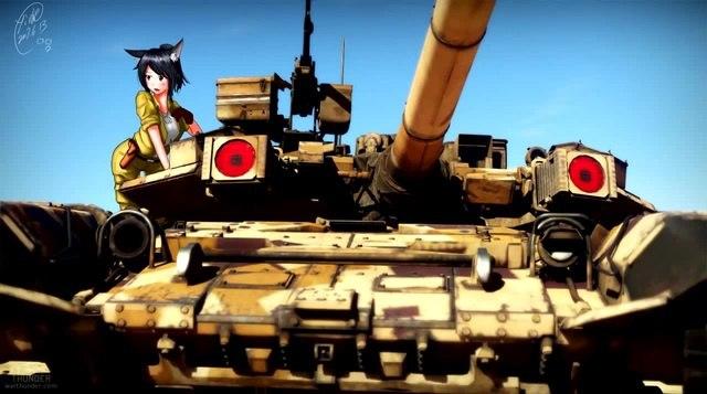 War Thunder: Dita Мне просто нравятся арты