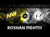 Amazing roshan fight by Na`Vi vs iG @ SLTV 9 Finals