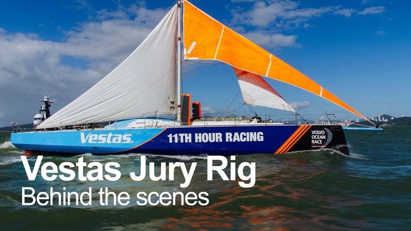 'When the leg ended, the adventure began'   Volvo Ocean Race
