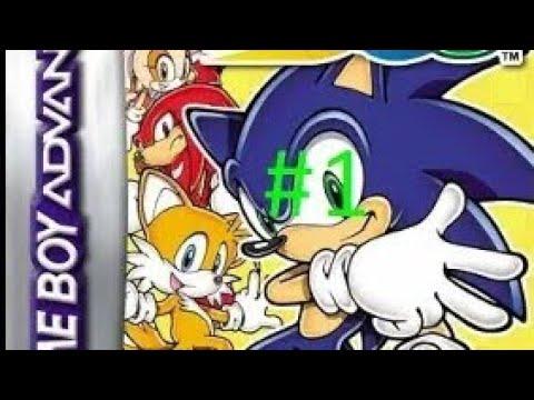 Прохождение игры Sonic Advance 3 от Йохана серия 1