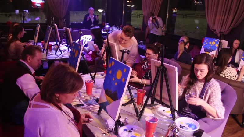 Арт-вечеринка Бута-Бар Вселенная Ван Гога