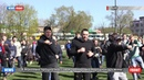 ДНР В Макеевке прошла массовая тренировка Народной дружины