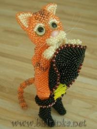 Животные и куколки из бисера 3vision - Fashon blog.