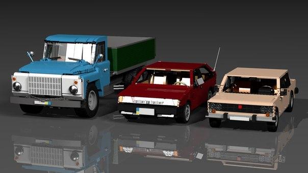 Lego Digital Designer Модели - фото 10