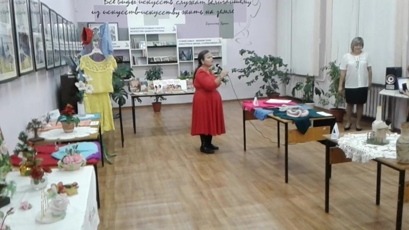 Выставка. Нафиса Кильченбаева