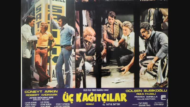 Üç Kağıtçılar Cüneyt Arkın Gülşen Bubikoğlu Türk Filmi Full HD