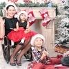 Новогодняя семейная, детская фотосессия 17-18 г