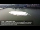 Huge mysterious vortex appears in Qiantang River in China, no cause found!