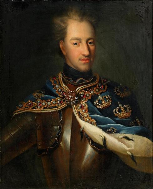 Король Швеции и его голова.