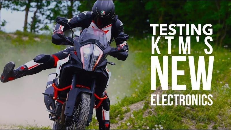 Testing KTMs motorcycle electronic rider aids | BikeSocial