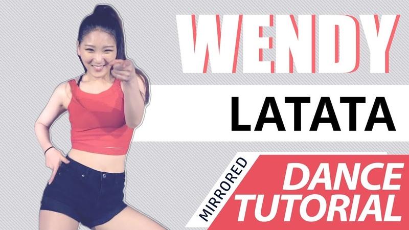 [ Mirrored ] DANCE TUTORIAL : (G)I-DLE((여자)아이들) - LATATA