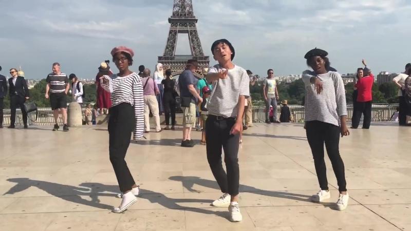 [KPOP IN PUBLIC PARISIAN VER.] MOMOLAND (모모랜드) _ BAAM DANCE COVER (W_⁄ IMPACT)