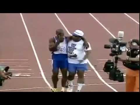 Derek Redmond's Incredible Olympic Story - Barcelona 1992 Olympics