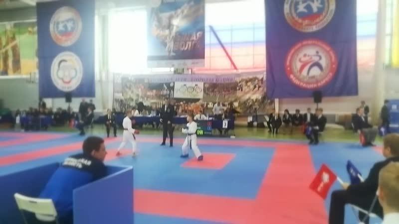 Межрегиональный турнир по каратэ WKF Большая Волна.mp4