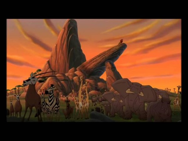 The Lion King 2 - Not One of Us - Kovu's Exile
