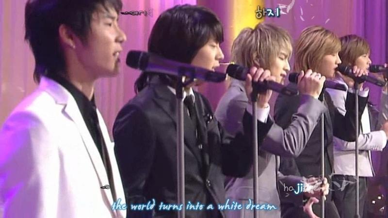 2006.11.19 DBSK 동방신기 - Youre My Miracle 세상에 단 하나뿐인 마음 [eng rom hangul karaoke sub]