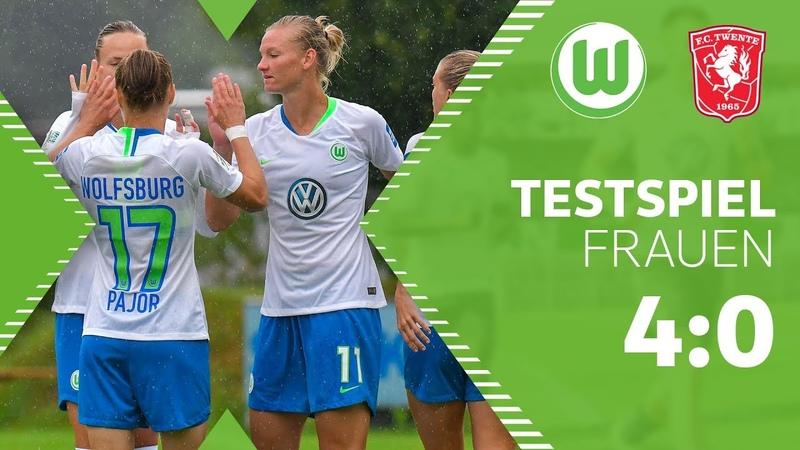 VfL Wolfsburg Frauen - Twente Enschede | Highlights | Testspiel