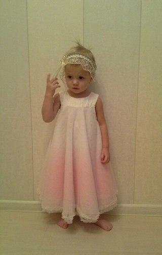 Детские праздничные платья для девочек - 6f1