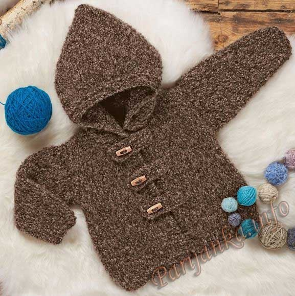 Курточка с капюшоном на малыша (1 фото) - картинка