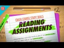 Reading Assignments Crash Course Study Skills 2