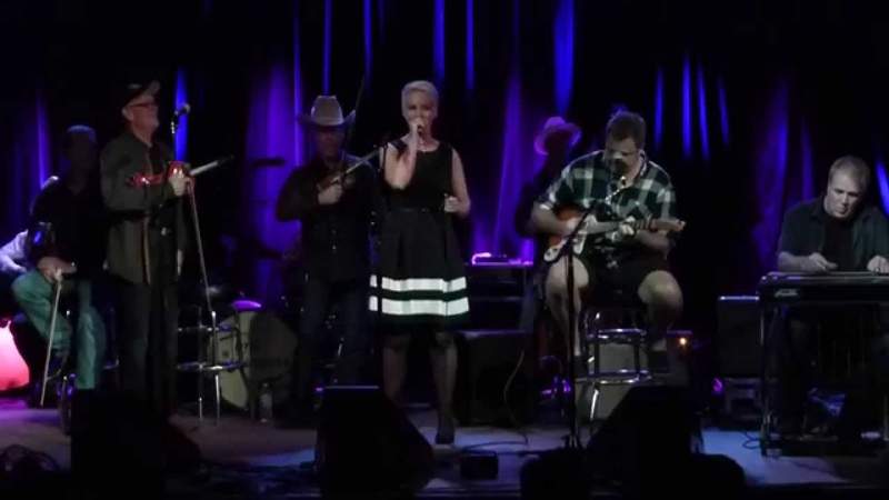 Evi Tausen with Vince Gill and The Time Jumpers. You Win Again.