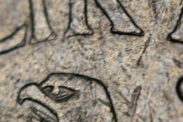 Индустар-61Л/З, макрокольца, 1 марка ФРГ, голова орла