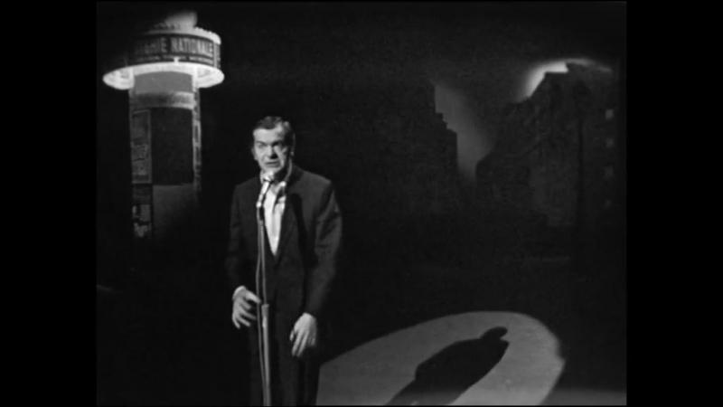 Serge Reggiani - Arthur… où t'as mis le corps? [Boris Vian]