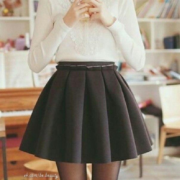 Школьная модная юбка