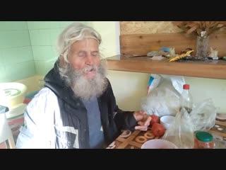 Изменения на сыроедение в старости. Владимир 70 лет, первые месяцы живого питани