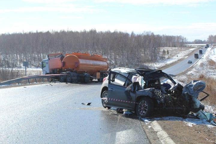 ДТП на 985-м километре автодороги Р255 «Сибирь»