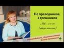 НЕ ПРАВЕДНИКОВ А ГРЕШНИКОВ Мат 1 1 17 продолжение