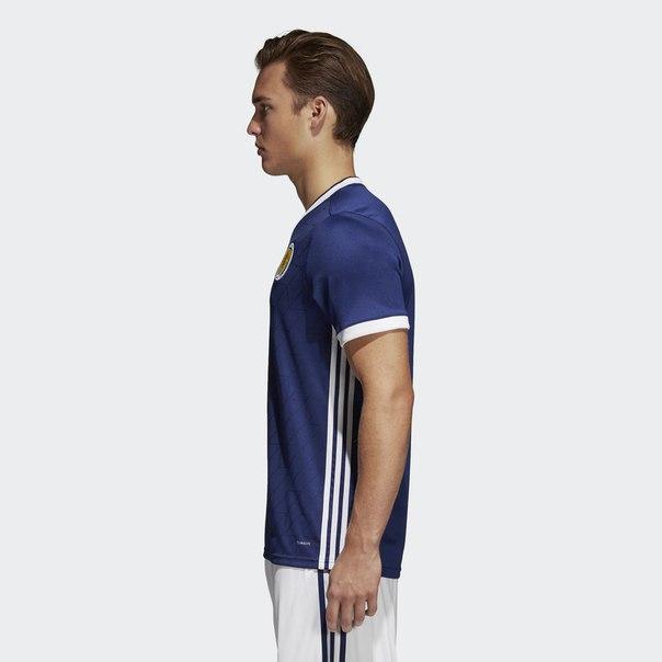 Домашняя игровая футболка сборной Шотландии