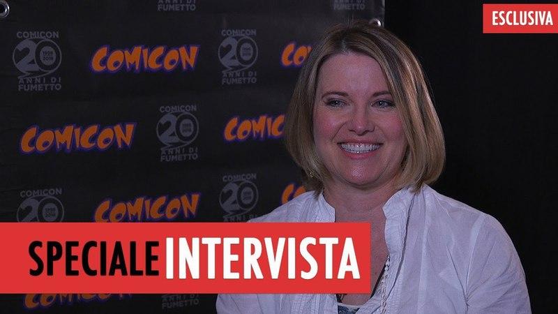 Lucy Lawless intervista all'attrice di Ash vs evil dead смотреть онлайн без регистрации