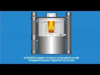 Вакуумная индукционная литейная установка УЛВК-10М.avi