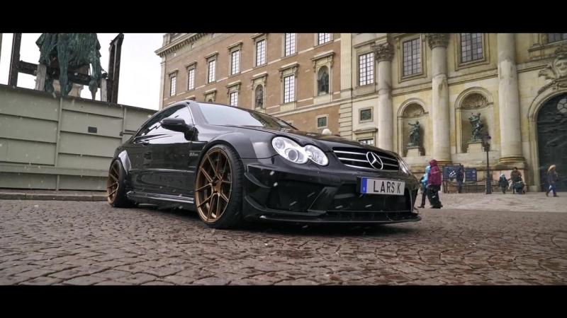 Mercedes CLK63 AMG Black Series - Swedish Monster - Ferrada F8-FR8