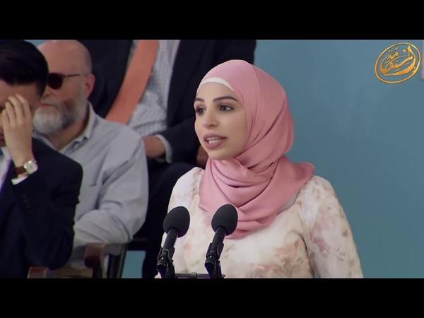 Выступление мусульманки в Гарвардском университете