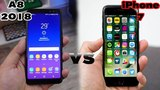 Сравнение: Samsung Galaxy A8 (2018) vs iPhone 7