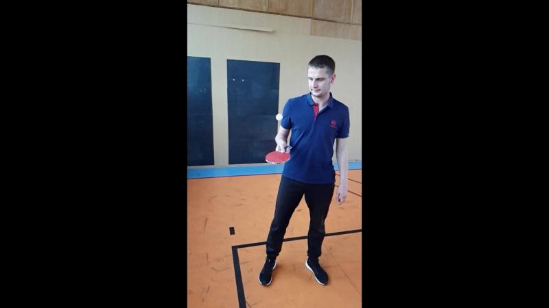 Настольный теннис, личное первенство 8.10.18 ч.6