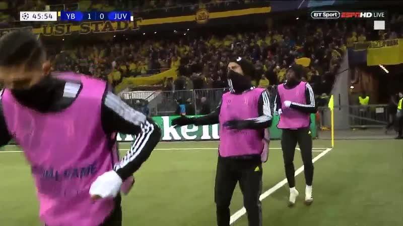 Лига Чемпионов Янг Бойз - Ювентус 2:1 обзор 12.12.2018 HD