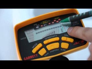видео инструкция Гарретт асе 250 обзор управления!