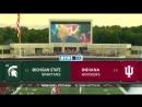 NCAAF 2018 Week 04 24 Michigan State Spartans Indiana Hoosiers 1H EN