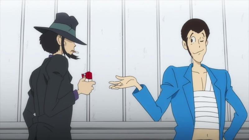 Мотивация от Люпена |Lupin III Part 5 (VO Amazing dubbing)