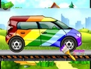 мультики про машинки Смарт, Спорткар, Микроавтобус развивающий мультик учим цвета вместе