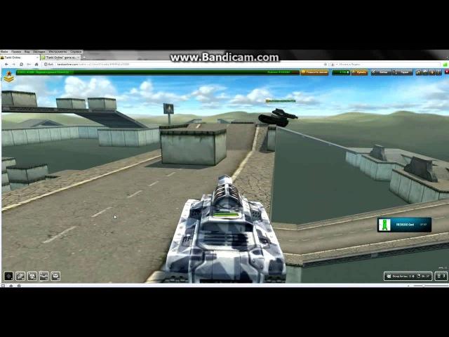 Супер паркур в танках онлайн 1