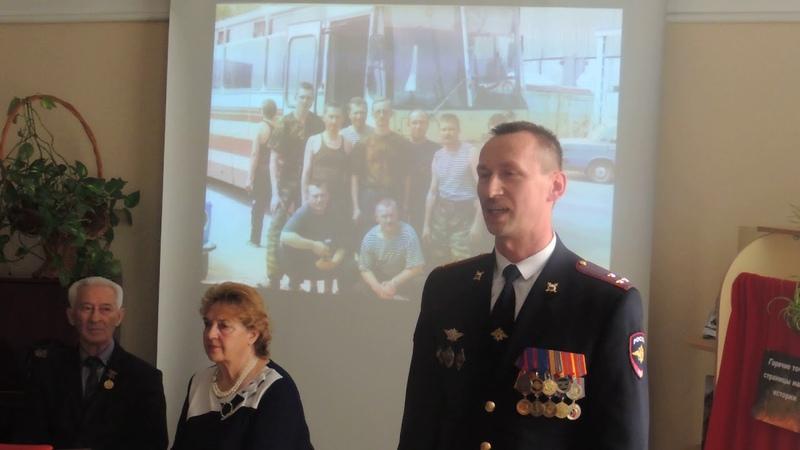 Творческая встреча с участниками боевых действий в Афганистане и Чеченской Республике