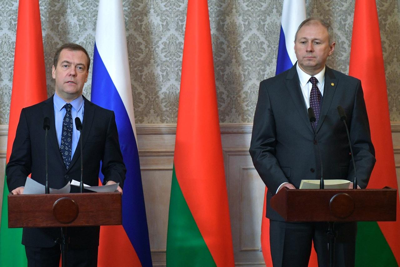 О чём Дмитрий Медведев рассказывал в соцсетях во время посещения Бреста