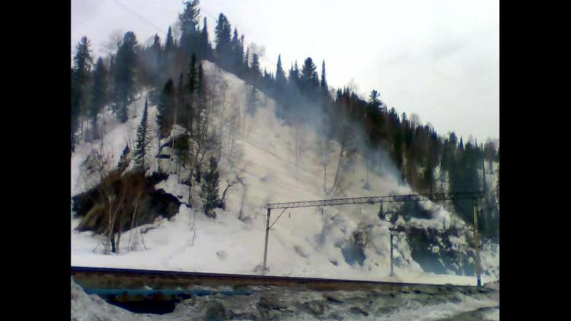 Подрыв лавины