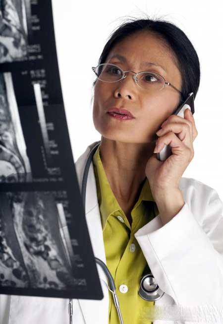 Рентген требуется для постановки диагноза рака горла