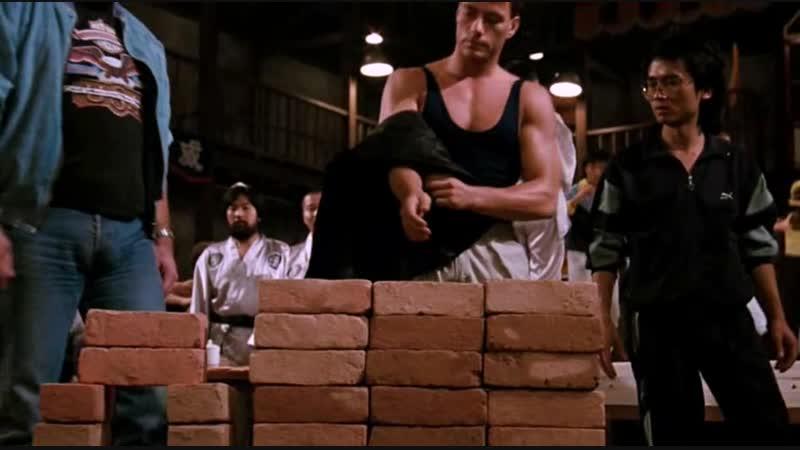 все бои из фильма Кровавый спорт (1988)